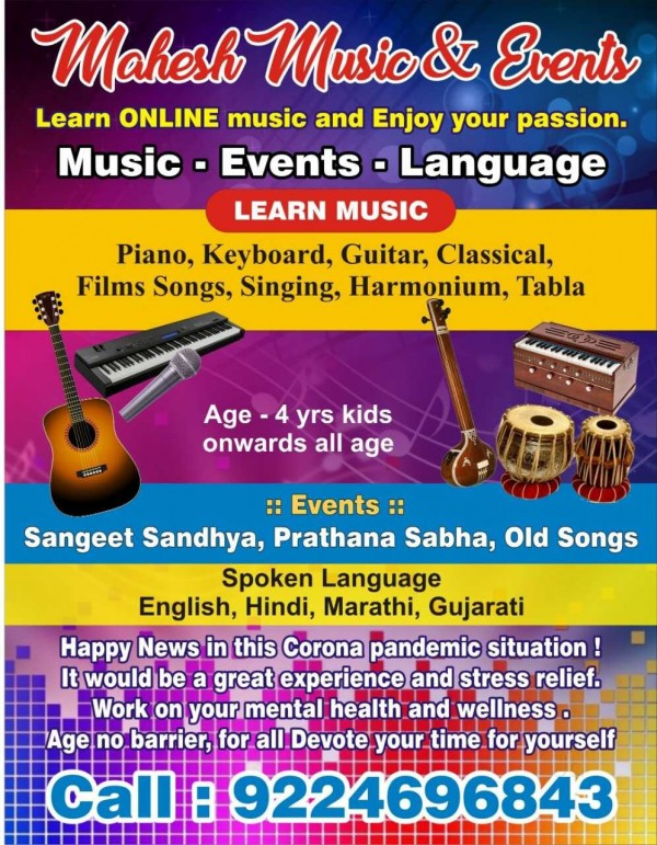 Mahesh Music and Events
